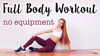 20 Min Full Body Workout (no Equipment)