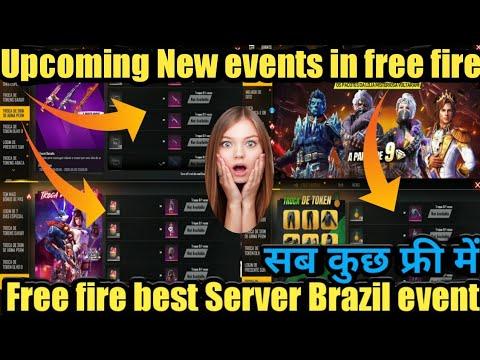 Free fire best server Brazil server event,supermarket sale,upcoming New magic cube store,o Bhai shab