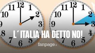 Ora Legale, L'italia Ha Detto No All'abolizione Del Cambio D'ora: Ecco Perchè
