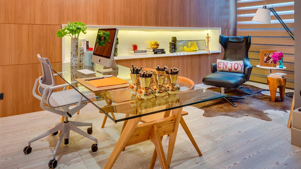 Como ter um escrit rio moderno em casa youtube for Muebles de escritorio modernos para casa