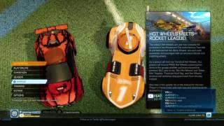 rocket league w viewers hot wheels update