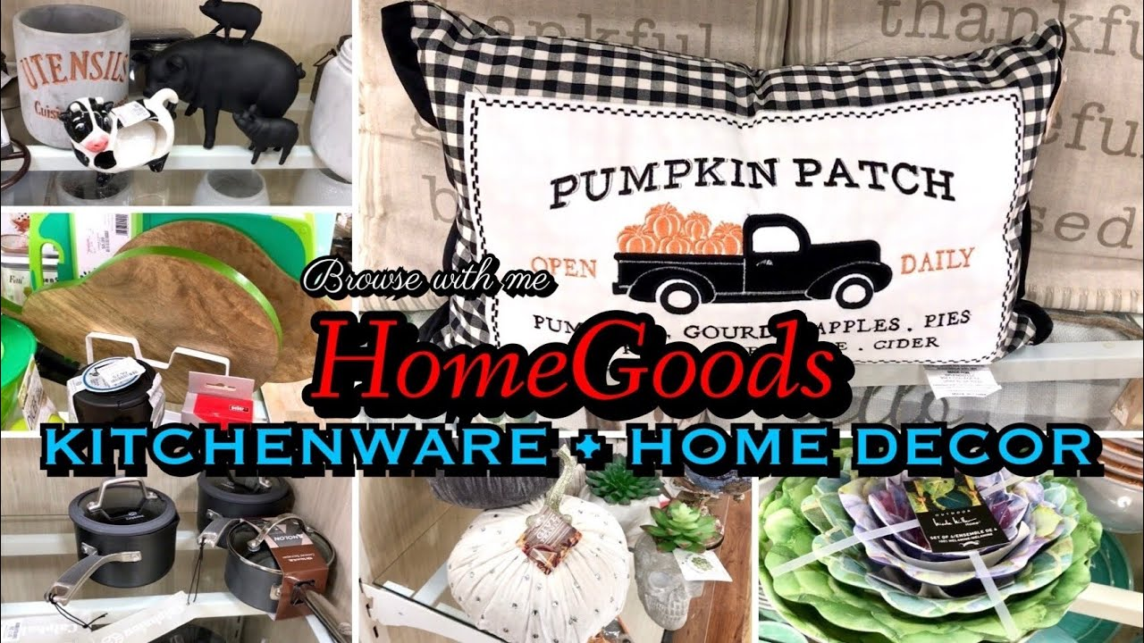 HOMEGOODS KITCHENWARE & HOME DECOR ** BROWSE WITH ME ** NEW FALL DECOR **