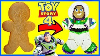 Toy Story 4 Buzz Lightyear Inspired Gingerbread Cookie Decoration