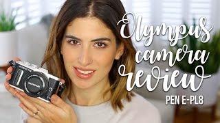 oLYMPUS PEN E-PL8 CAMERA REVIEW!