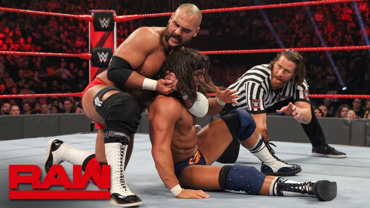 Bobby Roode & Chad Gable vs. The Revival - Raw Tag Team Title Match: Raw, Jan. 21, 2019