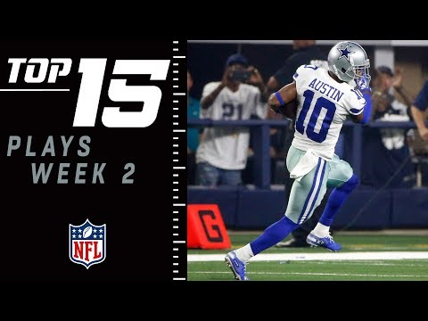 Top 15 Plays of Week 2 | NFL 2018 Highlights