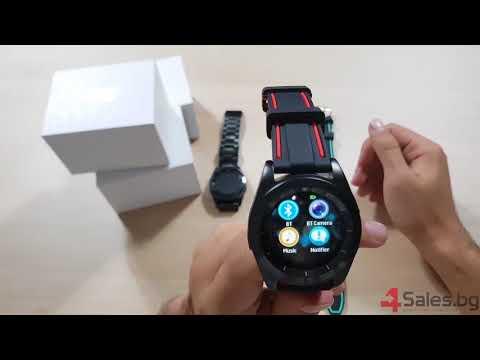 Стилен хибриден часовник G6 с много екстри SMW14 13