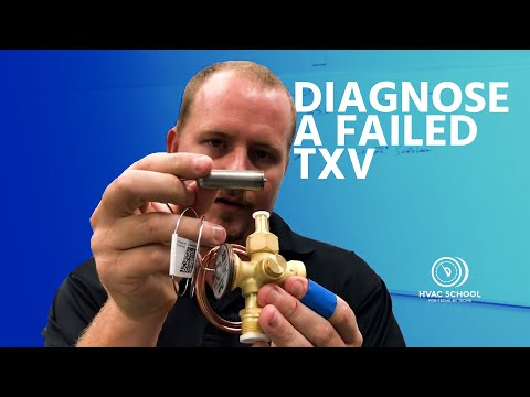 How To Properly Diagnose A Failed TXV