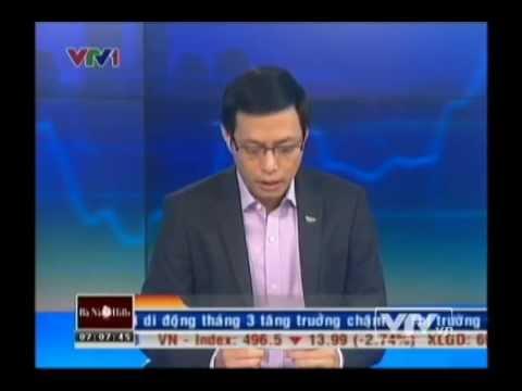 Bản tin Tài chính kinh doanh sáng 11 04 2013 VTV1 Dai truyen hinh Viet Nam