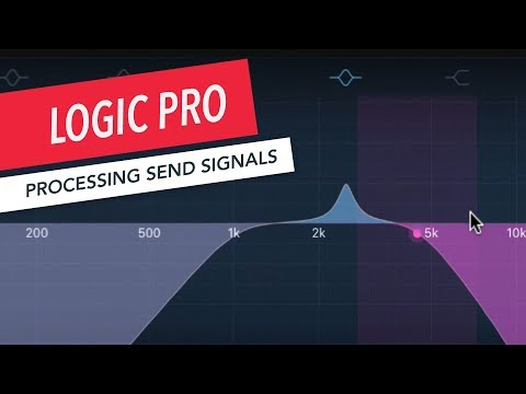 How to Process Send Signals in Logic Pro   Music Production   Sound Design   Berklee Online