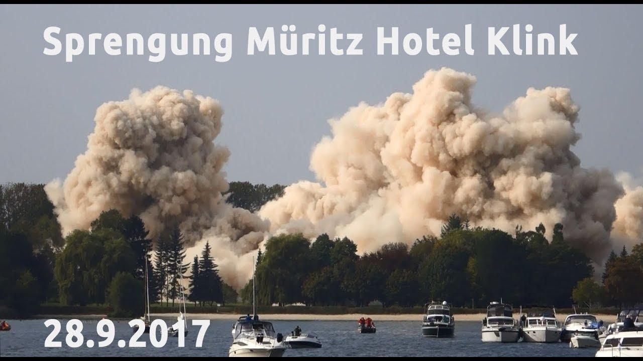 Müritz Hotel Sprengung