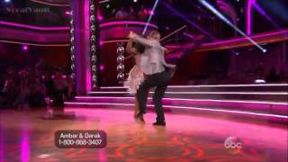 Cha Cha Cha by Amber & Derek DWTS Dancing Whit The Stars 17 (Opening Night) YouTube Videos