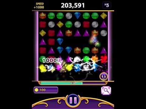 Bejeweled Blitz iPad [No Cheat] 1,360,750 Moonstone (Elite Technique)