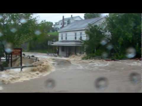 Hurricane Irene Flooding in Berne NY
