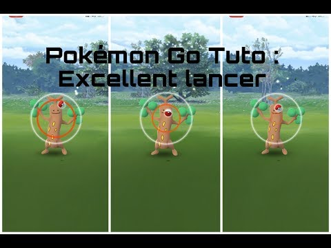 "Pokémon Go Tuto : Faire ""Facilement"" Des Excellents Lancers !"