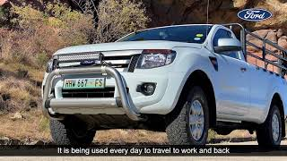 Ford Ranger owner testimonial   Louis du Toit