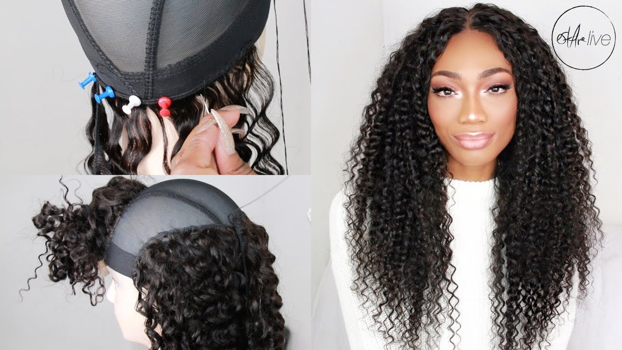 ed7c02feefb HOW TO MAKE A WIG (WITH A LACE CLOSURE   BUNDLES)