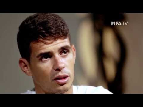 Chelsea and Brazil's OSCAR (EXCLUSIVE)