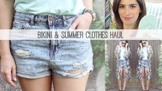 Bikini & Summer Clothes Haul // Lily Pebbles