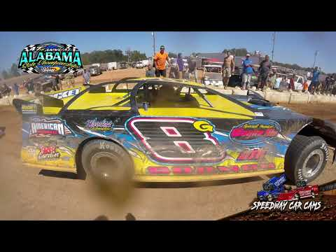 #8G Bubba Gorman - 602 Sportsman - 9-22-19 East Alabama Motor Speedway - In-Car Camera