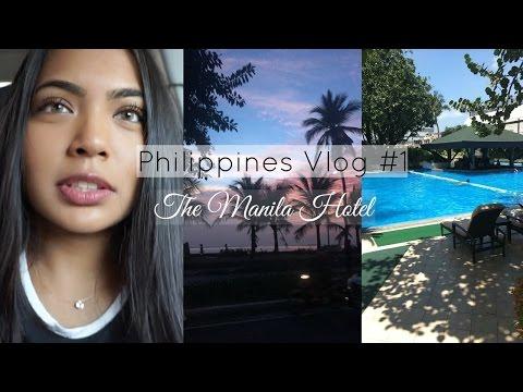 Philippines Vlog 1 - London to Manila & The Manila Hotel
