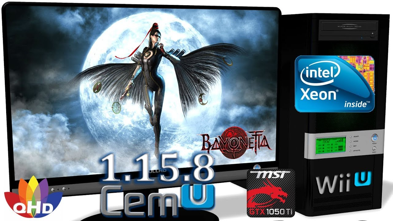 CEMU 1 15 8 [Wii U Emulator] - Bayonetta [Gameplay  Part 2] Xeon E5-2650v2  #30