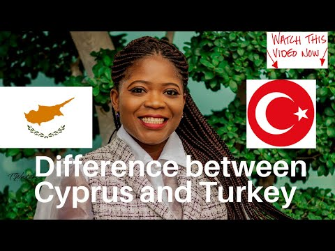 DIFFERENCE BETWEEN CYPRUS AND TURKEY