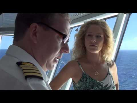 Cat Greenleaf's First Cruise: Meeting the Captain | Princess Cruises