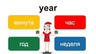Уроки английского языка для начинающих аудио – практика – выбери слово «year» – EnTube
