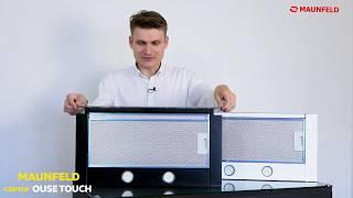 видео Вытяжка для кухни Maunfeld MZR 60