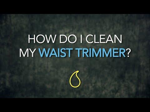 Q&A #7: How do I clean my Waist Trimmer?