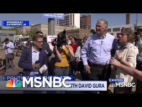 """Inslee Goes All In As The """"Climate Change Candidate"""" 