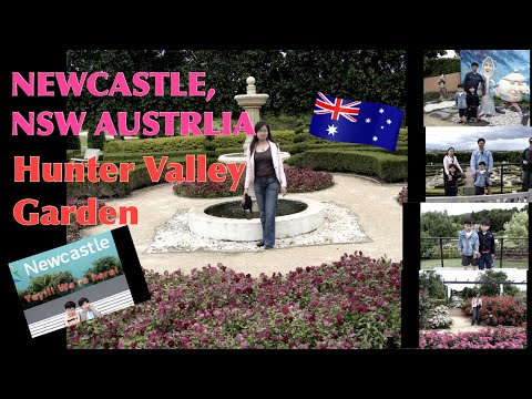 HUNTER VALLEY GARDEN NEWCASTLE, NSW AUSTRALIA