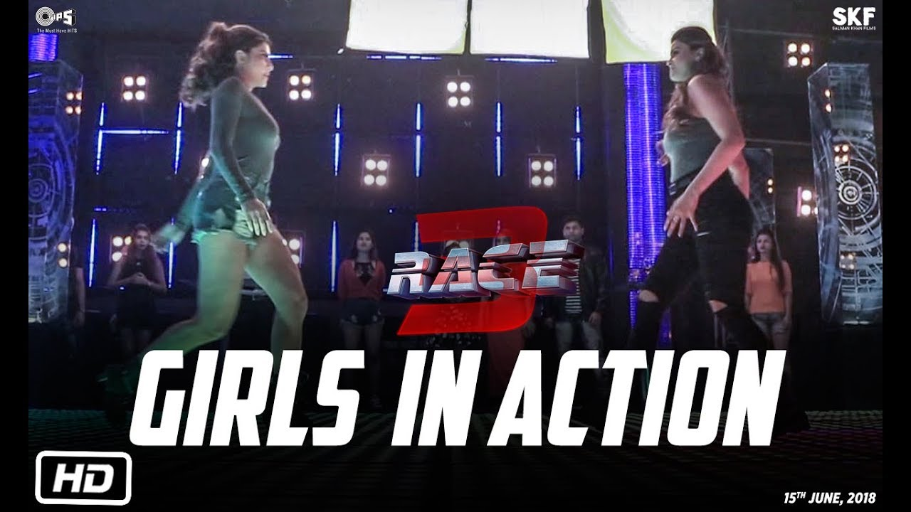 Download Race 3 | Girls In Action | Behind The Scenes | Jacqueline Fernandez | Daisy Shah