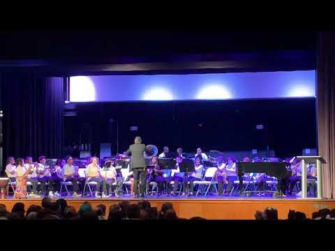 Legend of The Alhambra performed by Manning Junior High School Band