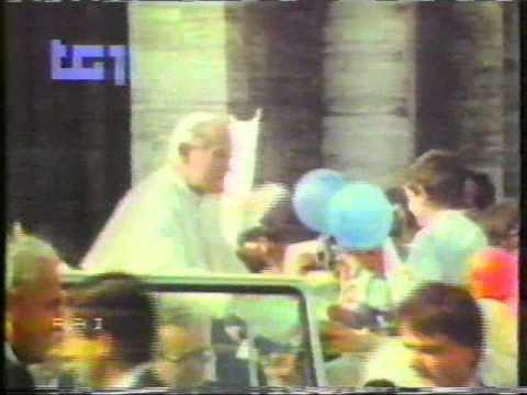 May 13, 1981:  Assassination Attempt on Pope John Paul II!