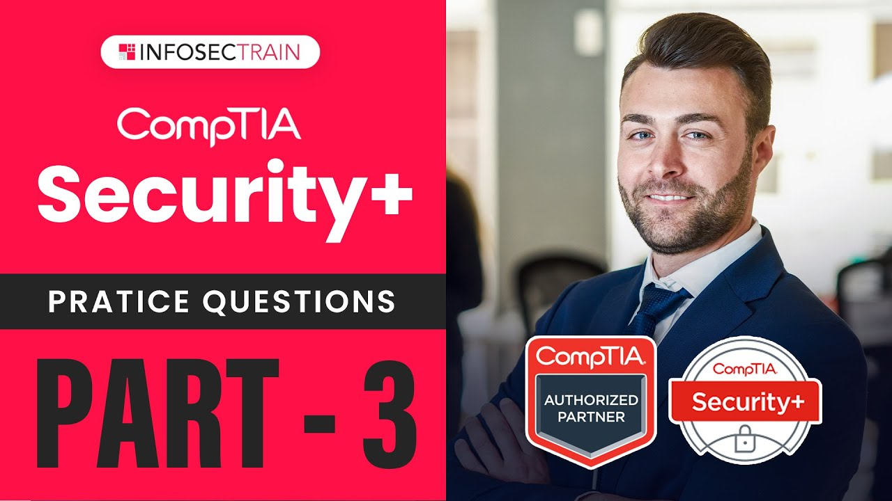 PART3 : #Security+ 601  Sample Questions |  #COMPTIA Security+ Questions by Akshay Gautam