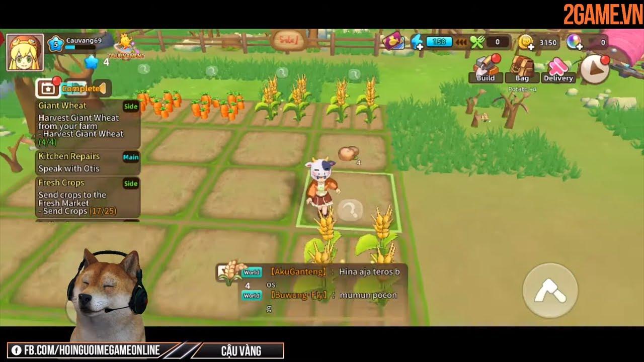 [Khám phá] Game nông trại Tour of Neverland Mobile bản tiếng Anh vừa ra mắt