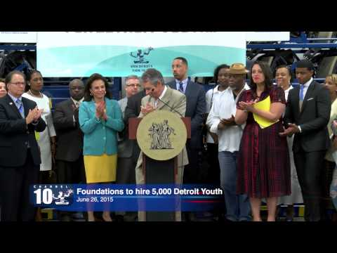 Mayor Duggan Announces 5,594 Detroit Youth Employed Through Grow Detroit's Young Talent