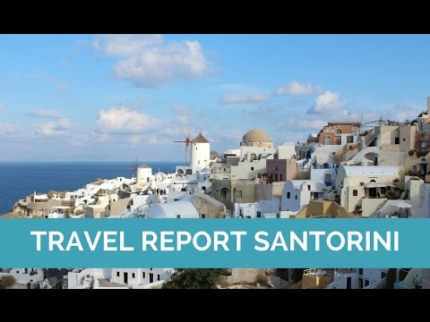 Travel diary Santorini, Greece | Map of Joy