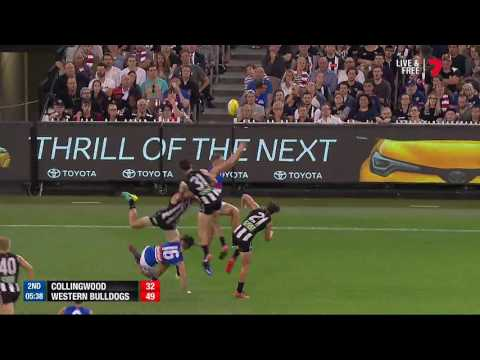 Round 1 AFL - Collingwood v Western Bulldogs Highlights