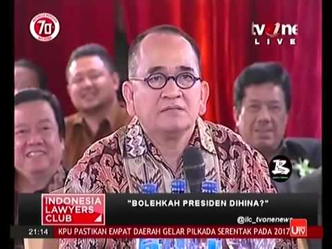 Berita 12 Agustus 2015   VIDEO ILC Pasal Penghinaan Presiden  Debat Seru Ruhut vs Eggy Sudjana