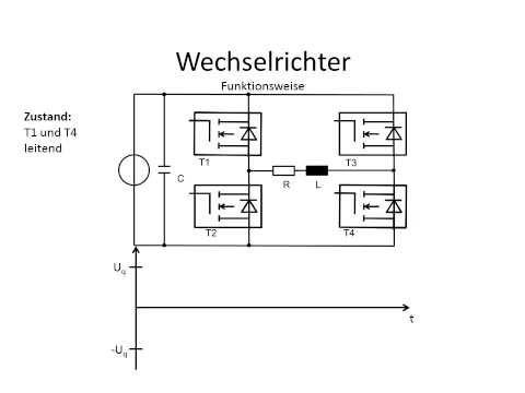 wechselrichter schaltung