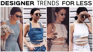CELEBRITY TRENDS FOR LESS! How to look like an IG model when your