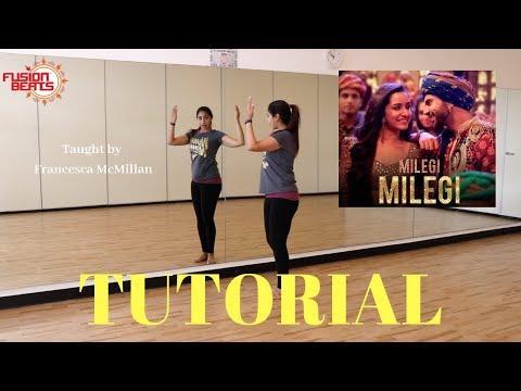 Bollywood Dance Tutorial To Milegi STREE | Mika Singh | Sachin-Jigar | Fusion Beats Dance