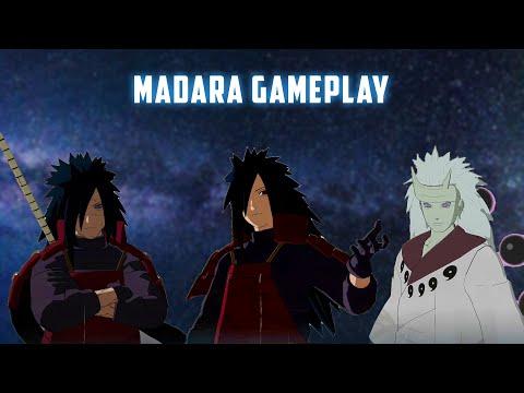 Gameplay Madara Di Game Naruto Storm 4 (Jutsu,Combo,Awakening)