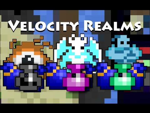 RotMG: Private Server | Velocity Realms | 24/7 | Gold From Gods | Items | Dungeons