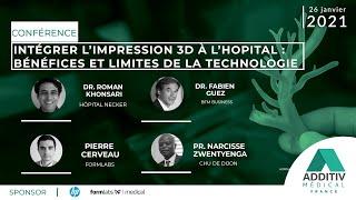 Les bénéfices et limites de l'impression 3D à l'hôpital - ADDITIV médical France