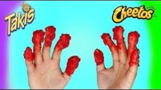 Takis and hot fries hot sauce challenge (MUST WATCH)