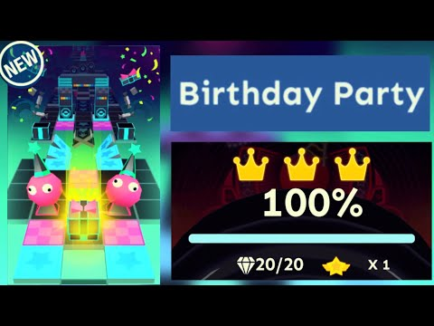 Rolling Sky - Birthday Party Bonus 29 [OFFICIAL]